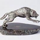 """Silver Figurine """"Wolf"""""""