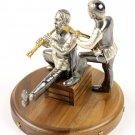 "Silver Figurine ""Musicians"""