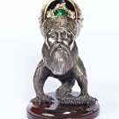 "Silver Statue figurine ""King of forest"""