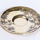 "Silver Serving plate bowl ""Bird"