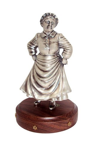 Silver Figurine Dancing Aunt Betty