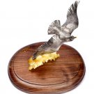 """Silver statue figurine """"The Seagull"""""""