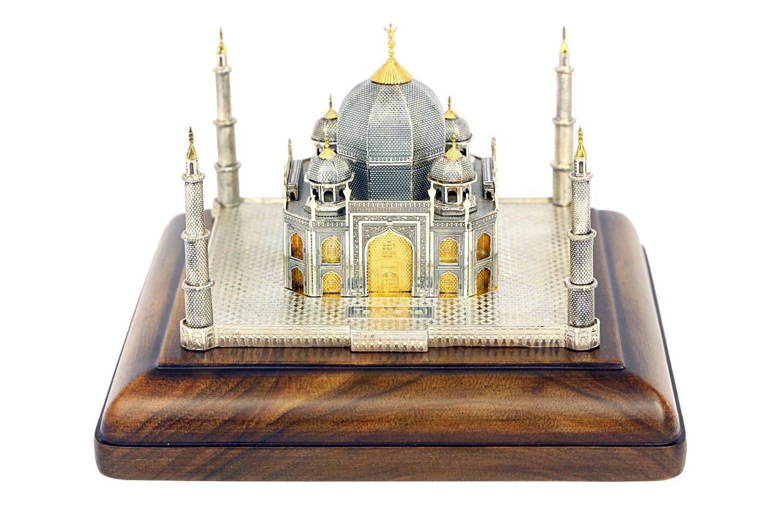 "Silver statue figurine ""Taj Mahal"""
