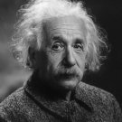 ALBERT EINSTEIN - 8X10 B&W PHOTO (EP-820)