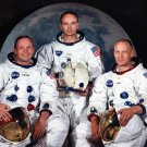 APOLLO 11 CREW PORTRAIT ARMSTRONG ALDRIN COLLINS MOON - 8X10 NASA PHOTO (EP-224)