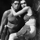 JOHNNY WEISSMULLER & MAUREEN O'SULLIVAN 'TARZAN & HIS MATE' 8X10 PHOTO (AA-141)