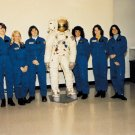NASA's FIRST CLASS OF FEMALE ASTRONAUTS SALLY RIDE - 8X10 PHOTO (AA-254)