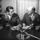EDWARD R. MURROW AND WILLIAM L. SHIRER CBS NEWS CIRCA 1940 - 8X10 PHOTO (AA-010)