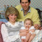 CHARLES & DIANA, PRINCE & PRINCESS OF WALES WITH WILLIAM - 8X10 PHOTO (DA-566)