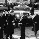 PRESIDENT JOHN F. KENNEDY ATTENDS ANNUAL RED MASS 1961 - 8X10 PHOTO (BB-339)