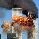UNITED 175 CRASHES INTO WORLD TRADE CENTER SEPTEMBER 11 2001 8X10 PHOTO (EP-958)