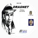 DRAGNET - 373 Shows Old Time Radio In MP3 Format OTR 8 CDs - Starring Jack Webb