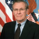 FORMER SECRETARY OF DEFENSE DONALD RUMSFELD - 8X10 PHOTO (EP-682)