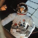 ASTRONAUT JACK LOUSMA IN SPACE SUIT DURING SKYLAB 3 EVA 8X10 NASA PHOTO (AA-096)