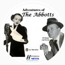 ADVENTURES OF THE ABBOTTS - 18 Shows - Old Time Radio In MP3 Format OTR On 1 CD