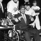 ROY CAMPANELLA NIGHT LOS ANGELES DODGERS NEW YORK YANKEES - 8X10 PHOTO (AA-019)