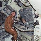 SCIENTIST-ASTRONAUT OWEN GARRIOTT DURING SKYLAB 3 - 8X10 NASA PHOTO (AA-020)
