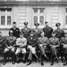 US WORLD WAR II MILITARY OFFICIALS EISENHOWER PATTON OTHERS 8X10 PHOTO (EP-823)