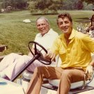 FRANK SINATRA AND DEAN MARTIN PLAY GOLF IN 1988 - 8X10 PHOTO (AA-892)
