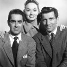TYRONE POWER ANN BLYTH IN 'I'LL NEVER FORGET YOU' 8X10 PUBLICITY PHOTO (EE-009)