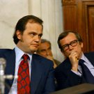 SENATOR HOWARD BAKER & FRED THOMPSON ON WATERGATE COMMITTEE 8X10 PHOTO (ZY-100)