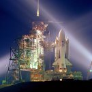 SPACE SHUTTLE COLUMBIA (STS-1) ON LAUNCH PAD 39A - 8X10 NASA PHOTO (EP-397)