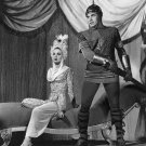ANN BLYTH AND DAVID FARRAR IN 'GOLDEN HORDE' - 8X10 PUBLICITY PHOTO (EE-004)