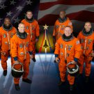 SPACE SHUTTLE ATLANTIS STS-129 CREW PORTRAIT - 8X10 NASA PHOTO (EE-094)
