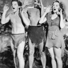 WEISSMULLER & JOYCE 'TARZAN & THE LEOPARD WOMAN' - 8X10 PUBLICITY PHOTO (AB-112)