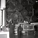 PRESIDENT DWIGHT D. EISENHOWER IS BRIEFED BY WERNHER VON BRAUN - 8X10 PHOTO (EP-330)