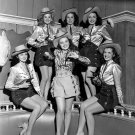 """COWGIRLS FROM THE ROY ROGERS MOVIE """"RAINBOW OVER TEXAS"""" - 8X10 PHOTO (AA-046)"""