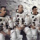 APOLLO 10 CREW PORTRAIT - CERNAN, STAFFORD & YOUNG - 8X10 NASA PHOTO (EP-223)