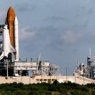 SHUTTLES DISCOVERY & ENDEAVOUR ON LAUNCH PADS AT SAME TIME - 8X10 PHOTO (EP-407)