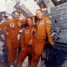 SKYLAB 3 PRIME CREW GARRIOTT, LOUSMA AND ALAN BEAN - 8X10 NASA PHOTO (AA-075)