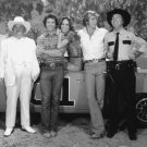 'THE DUKES OF HAZZARD' CAST BACH WOPAT SCHNEIDER - 8X10 PUBLICITY PHOTO (DA-686)