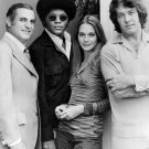 CAST FROM THE ABC TV SHOW 'THE MOD SQUAD' 1972 - 8X10 PUBLICITY PHOTO (AB-024)