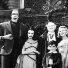 CAST FROM THE CBS TV SERIES 'THE MUNSTERS' - 8X10 PUBLICITY PHOTO (AB-029)