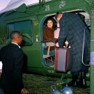 FIRST LADY JACKIE KENNEDY AND CAROLINE DEPART FOR GLEN ORA - 8X10 PHOTO (BB-000)