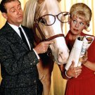 """ALAN YOUNG, CONNIE HINES AND """"MISTER ED"""" - 8X10 PUBLICITY PHOTO (ZY-127)"""