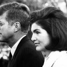 PRESIDENT JOHN F. KENNEDY & FIRST LADY JACQUELINE KENNEDY - 8X10 PHOTO (AB-045)