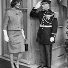 "FIRST LADY JACQUELINE ""JACKIE"" KENNEDY IN PARIS IN 1961 - 8X10 PHOTO (AB-062)"