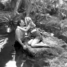 WEISSMULLER & BRENDA JOYCE 'TARZAN & THE HUNTRESS' 8X10 PUBLICITY PHOTO (AB-094)