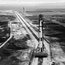 APOLLO 11 SATURN V LAUNCH VEHICLE ON CRAWLERWAY - 8X10 NASA PHOTO (BB-022)