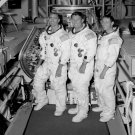 APOLLO 7 CREW WALLY SCHIRRA WALT CUNNINGHAM EISELE - 8X10 NASA PHOTO (BB-037)