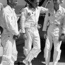 APOLLO 11 CREW RELAX ON DECK OF MOTOR VESSEL RETRIEVER 8X10 NASA PHOTO (BB-039)