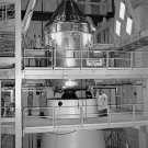 APOLLO 11 COMMAND MODULE MATED TO SATURN V UPPER STAGE - 8X10 PHOTO (BB-048)