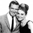 AUDREY HEPBURN & GEORGE PEPPARD IN 'BREAKFAST AT TIFFANY'S' 8X10 PHOTO (EP-641)