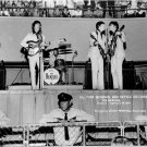 THE BEATLES AT MID-SOUTH COLISEUM IN MEMPHIS AUGUST 1966 - 8X10 PHOTO (AA-252)