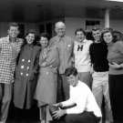 KENNEDY FAMILY PHOTO TAKEN DURING THANKSGIVING IN 1948 - 8X10 PHOTO (BB-817)