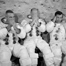 APOLLO 10 CREW ACTING SILLY BEFORE THEIR CREW PORTRAIT 8X10 NASA PHOTO (ZZ-118)